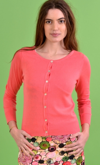 Cardigan Lucy. Sweety. Corail