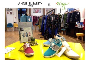 Anne Elisabeth invite N'go Shoes